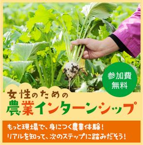 女性のための農業インターンシップ
