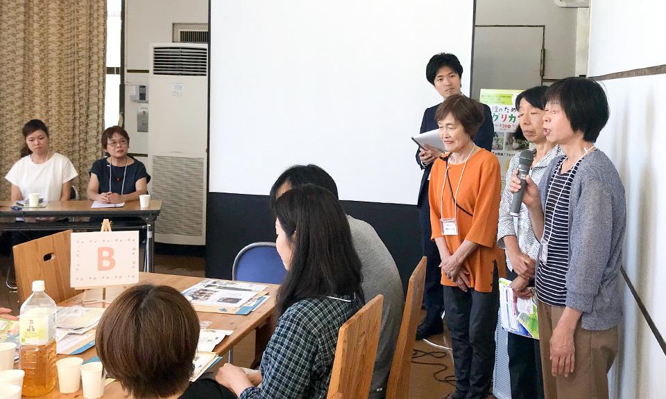 第1回アグリカフェ(近江八幡市)を開催しました